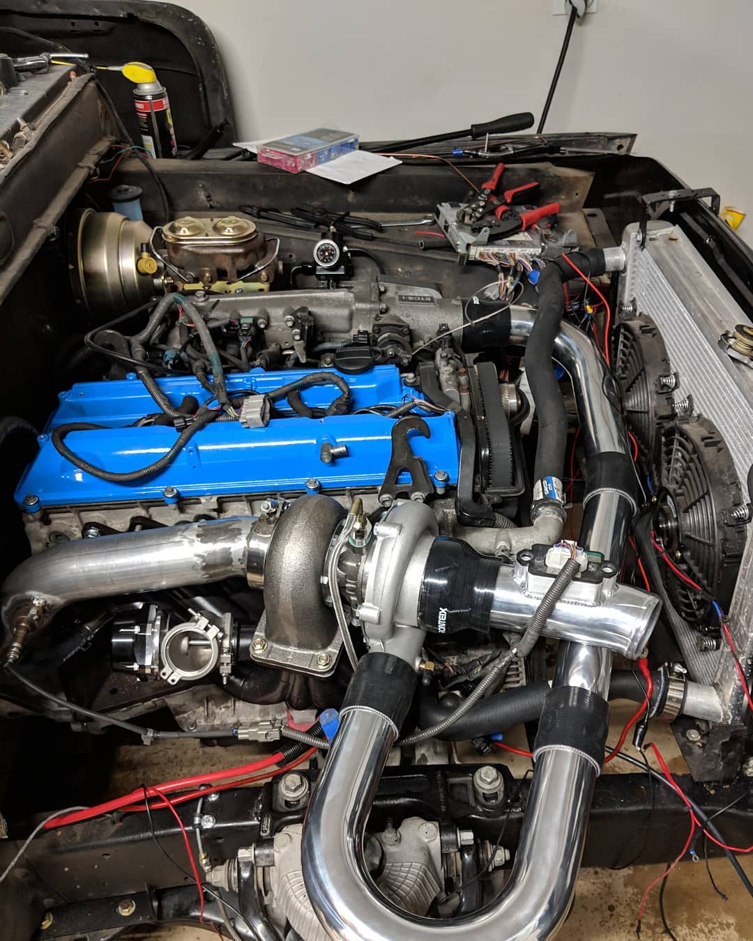 1966 Ford F-100 with a 2JZ-GTE Inline-Six – Engine Swap Depot