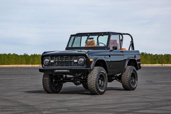 1969 Bronco with a supercharged Coyote V8
