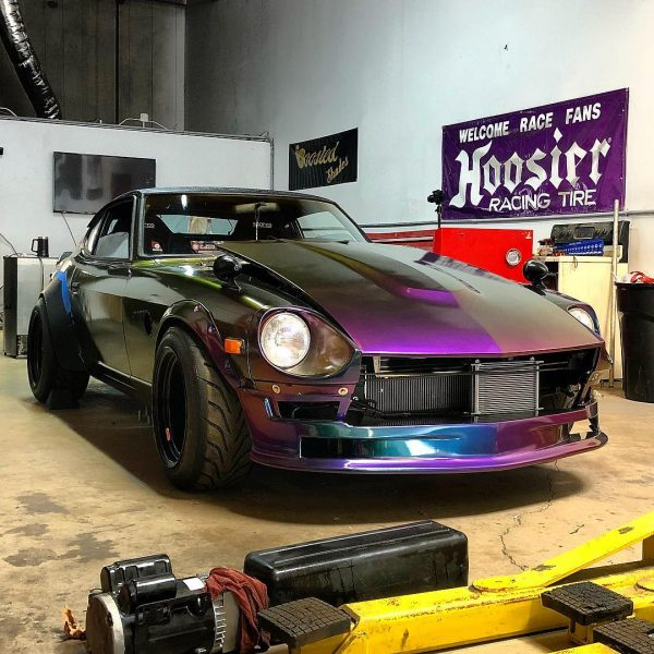 1973 Datsun 240Z with a turbo Ford 2.3 L inline-four