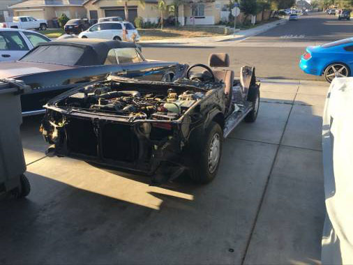 For Sale: 1973 Ford Courier with a Subaru Powertrain