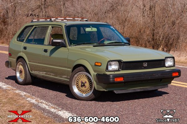 1983 Honda Civic wagon with a B18B1 inline-four