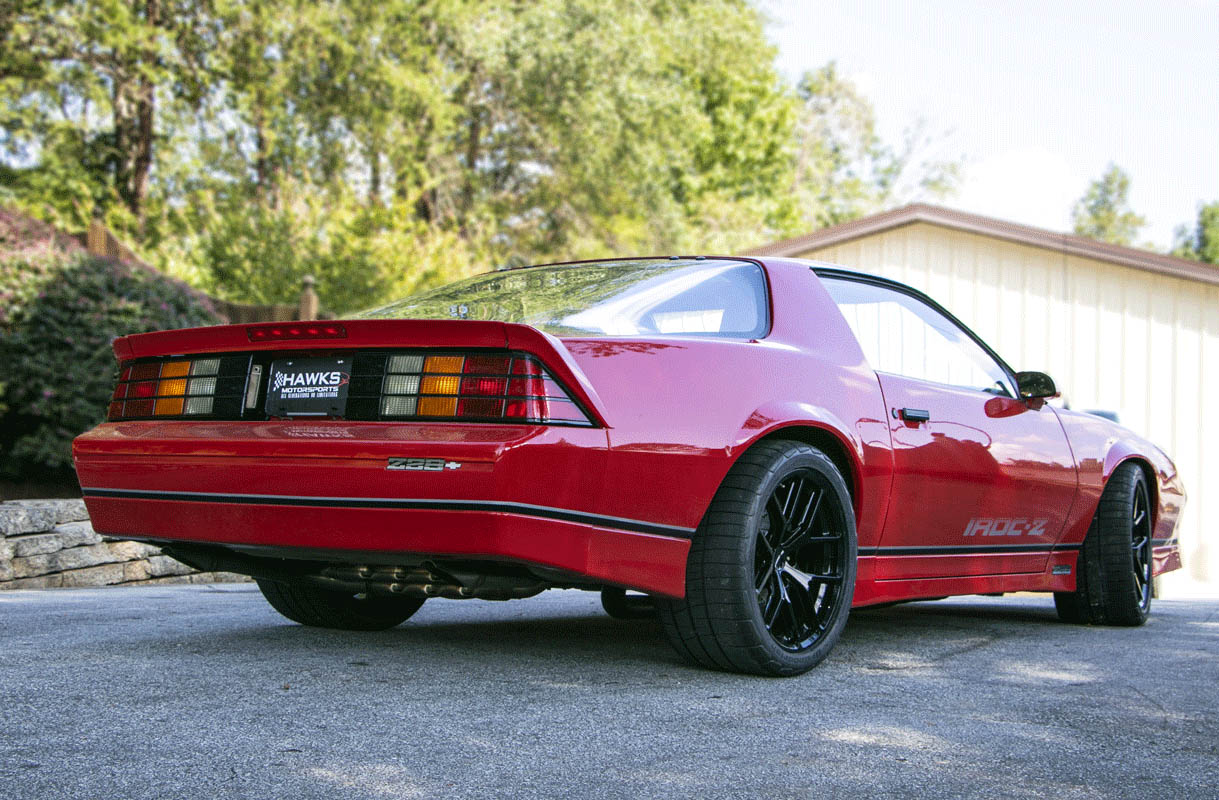 1987 Camaro Iroc Z With A Ls7 V8 Engine Swap Depot