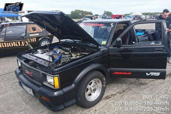 1991 Syclone with a Turbo 6.2 L SBC V8