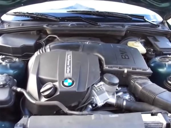 1995 BMW E36 with a turbo N55 inline-six