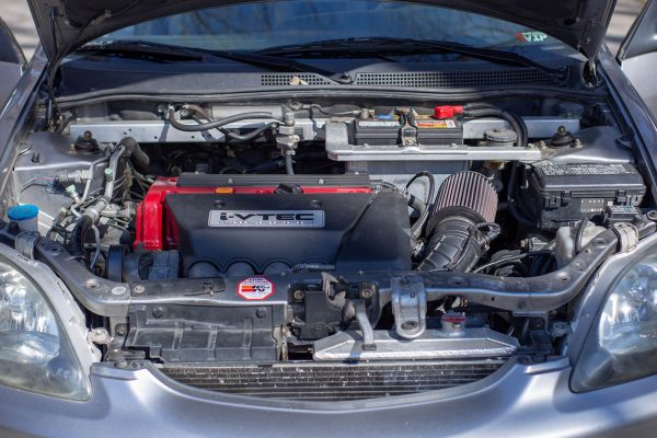 2000 Honda Insight with a K20 inline-four