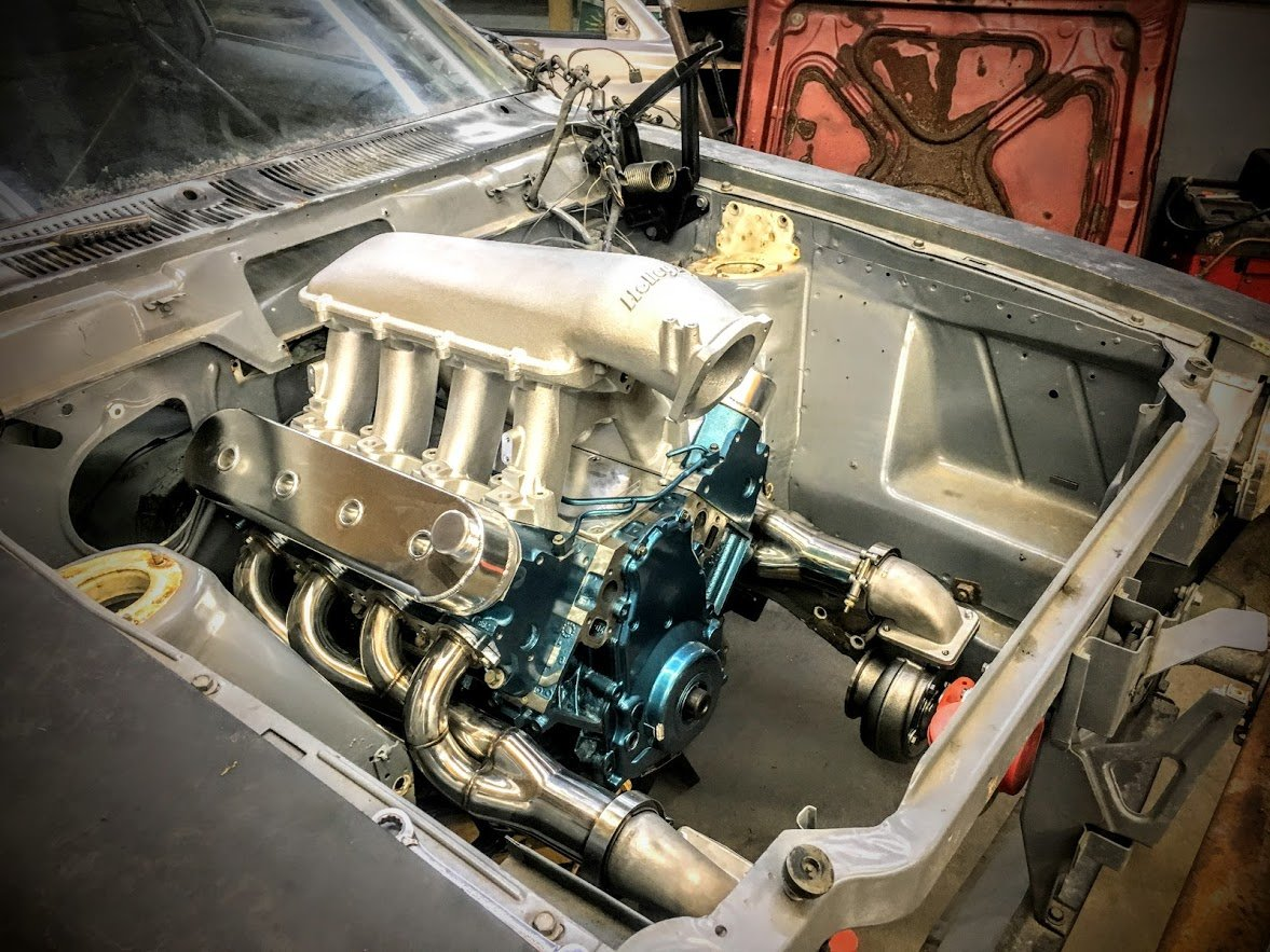 AMC Hornet with a Twin-Turbo 5 3 L LSx V8 – Engine Swap Depot