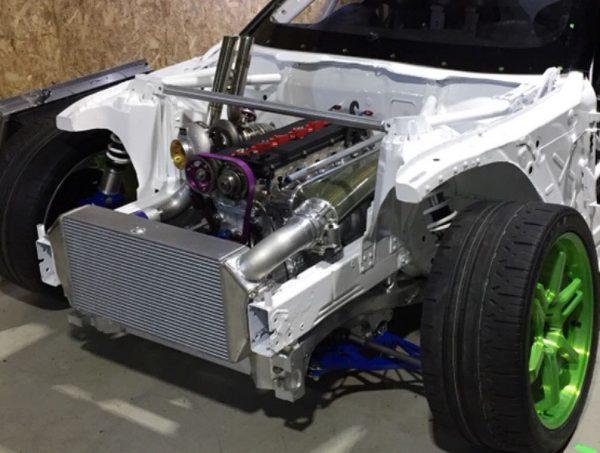 Daigo Saito A90 GR Supra with a turbo 2JZ inline-six