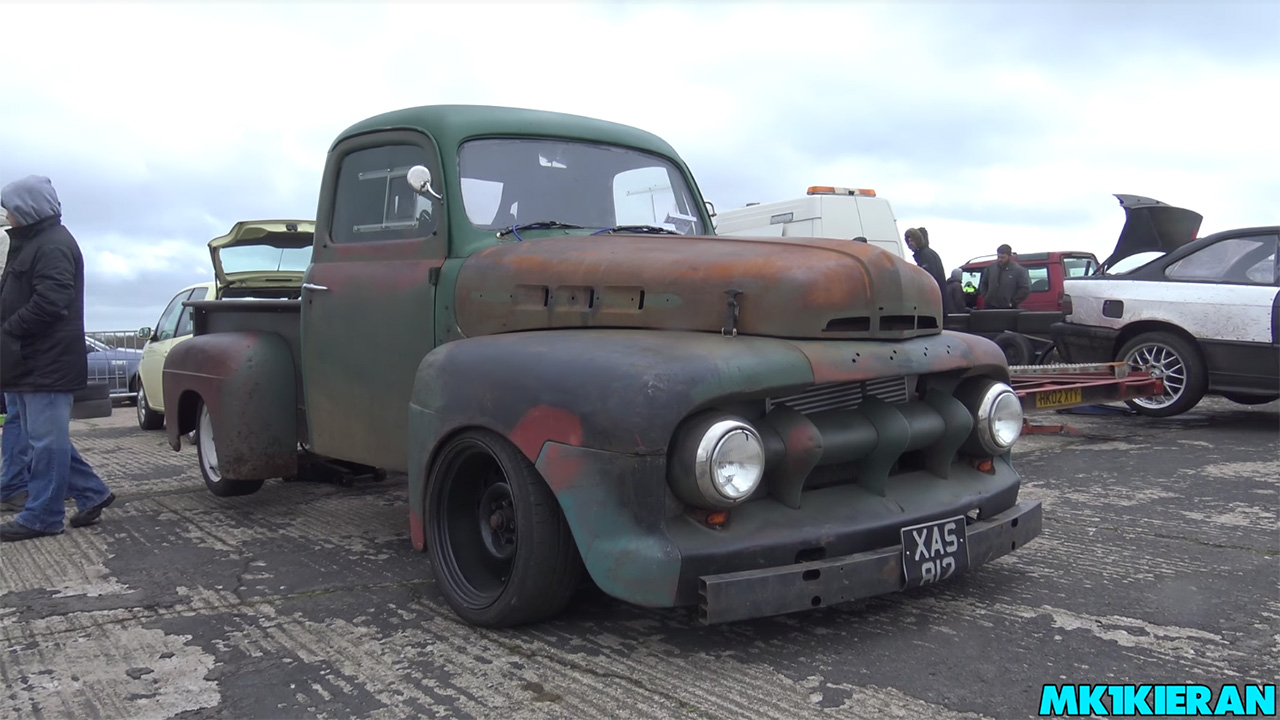 Ford F-100 with a turbo 4.6 L V8