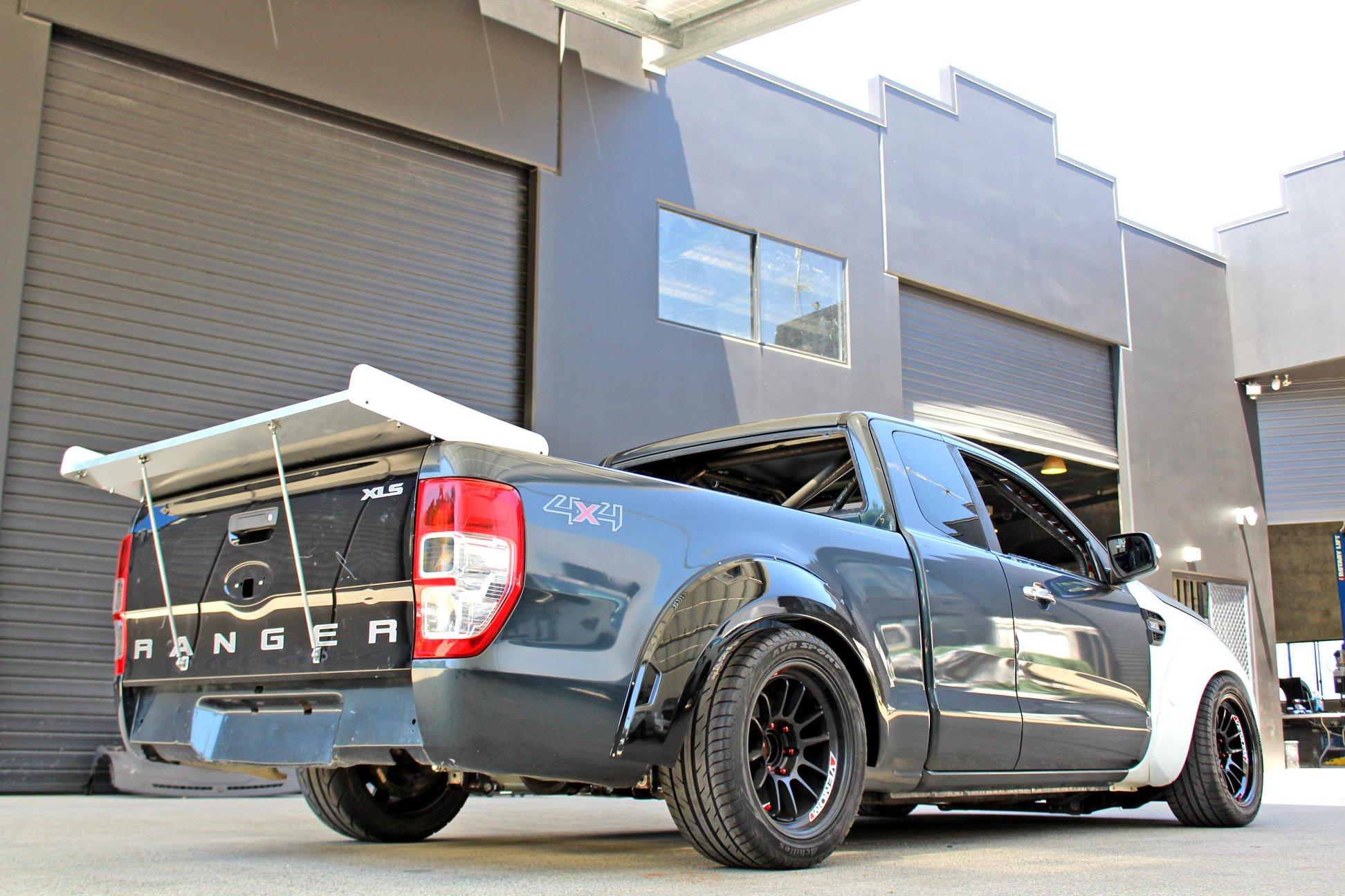 Ford Ranger Rear End Width