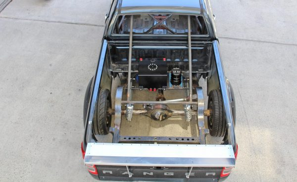 Ford Ranger with a supercharged LSA V8