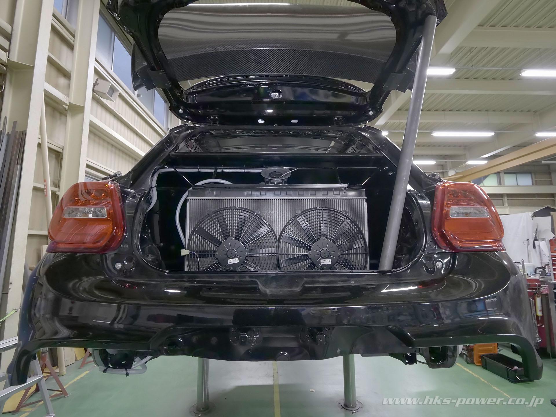 HKS' Suzuki Swift Sport with a 4G63T Inline-Four – Engine