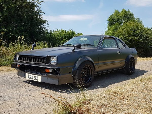 Honda Prelude with a H22A inline-four