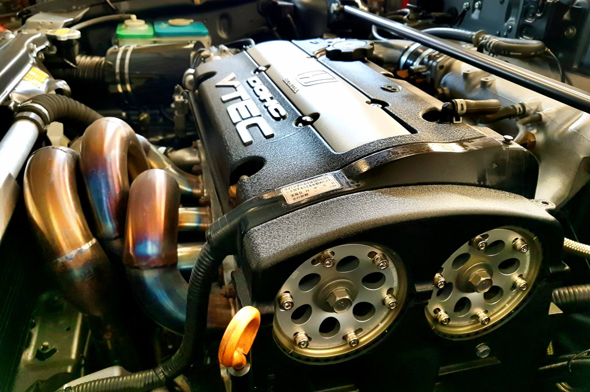 Honda Prelude with a 2 2 L H22A Inline-Four – Engine Swap Depot