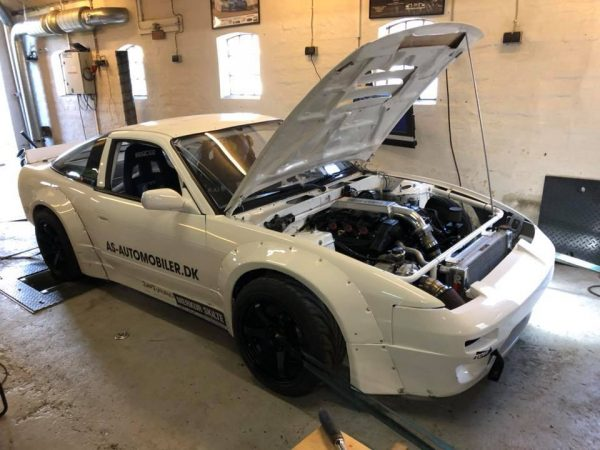 Nissan S13 with a Turbo VG30 V6