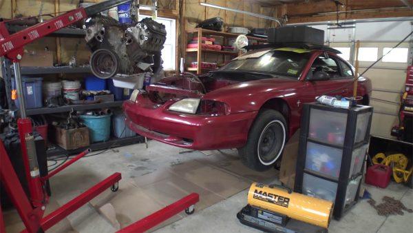 Sloppy Mechanics 1995 Mustang GT with a Turbo LSx V8