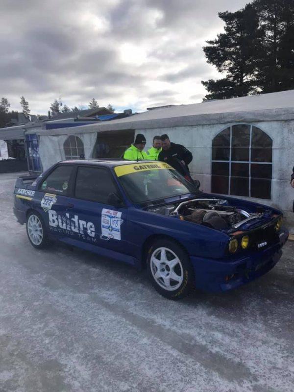 Vidar Jødahl BMW E30 M3 with a turbo 2JZ inline-six