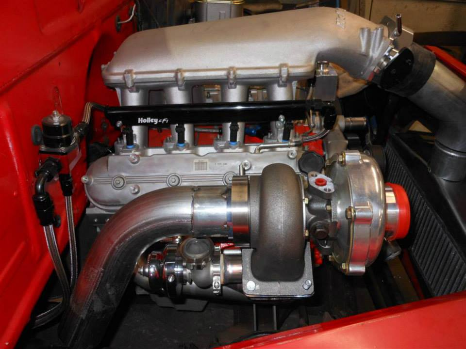 1954 Chevy Pickup with a Twin-Turbo LSx V8 – Engine Swap Depot
