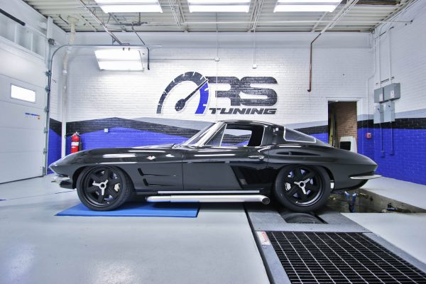 1963 Corvette with a supercharged LT4 V8