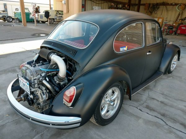 1968 VW Beetle with a 2.4 L Ecotec inline-four