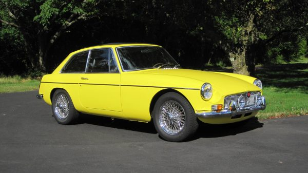 1969 MG MGB with a Chevy V6