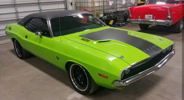 1970 Challenger with a Supercharged Hellcat V8