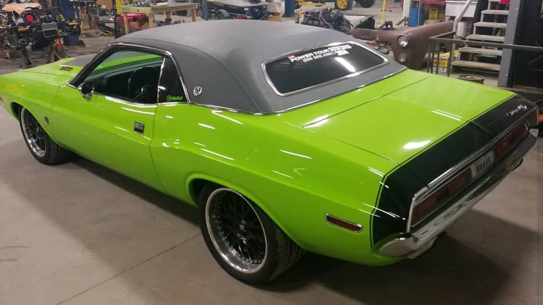 1970 Challenger With A Supercharged Hellcat V8 Engine Swap Depot