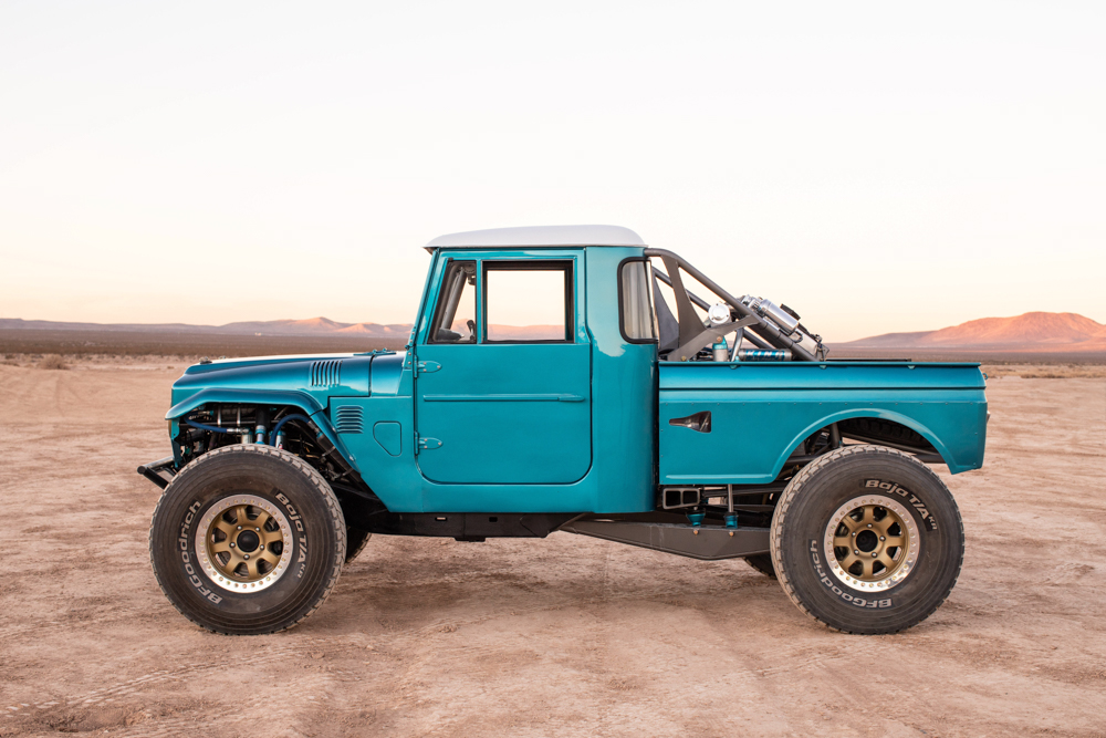 Toyota FJ45 with a Supercharged 3UR-FE V8 – Engine Swap Depot