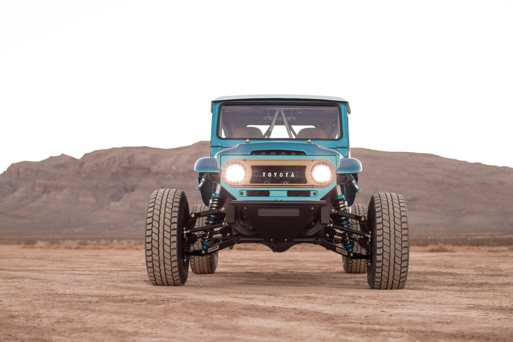 Toyota FJ45 with a Supercharged 3UR-FE V8 - engineswapdepot com