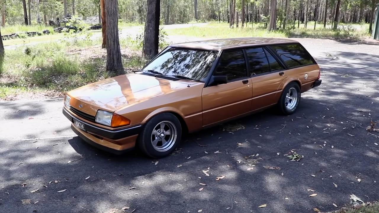 1984 Ford Falcon with a turbo VH41DE V8