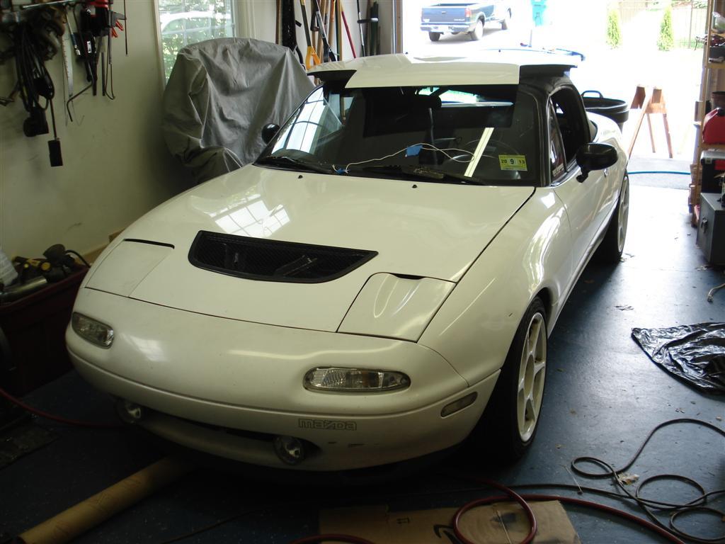 Mazda Miata with a Turbo KL-DE V6 – Engine Swap Depot
