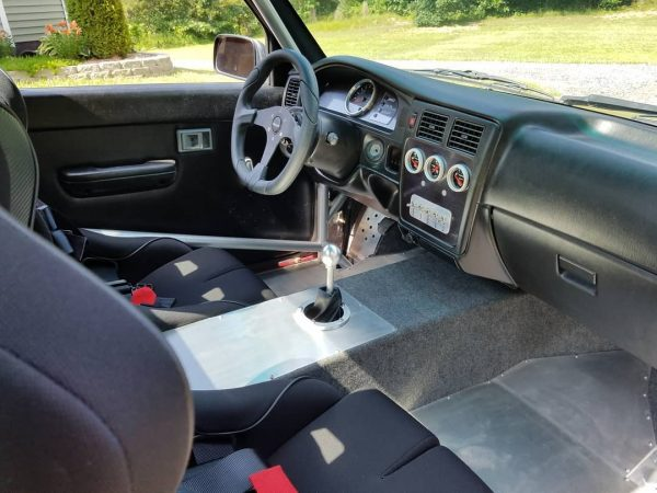 custom interior for a 1995 Tacoma with a LS1 V8