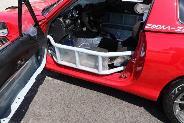 1999 Mazda Miata with a LS3 V8