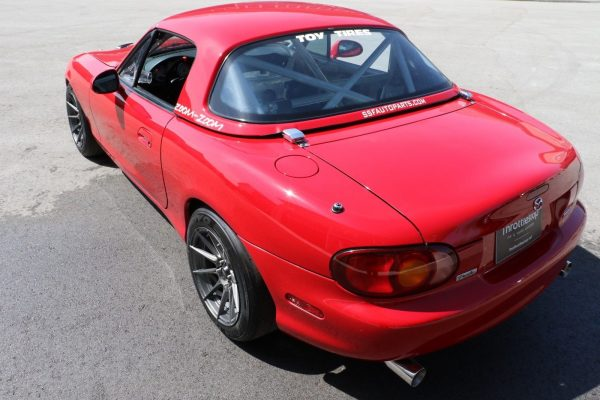 1999 Mazda Miata with a LS3 V8