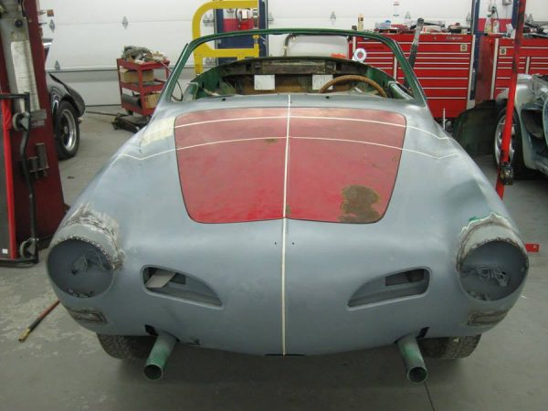 2001 Porsche Boxster S with a Karmann Ghia body