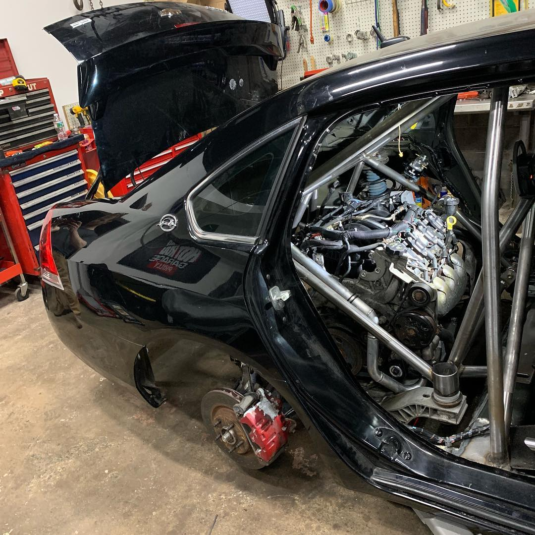 2006 Chevy Impala SS with Two LS4 V8 Engines – Engine Swap Depot