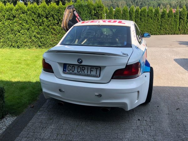 BMW E82 with an AMG M156 V8