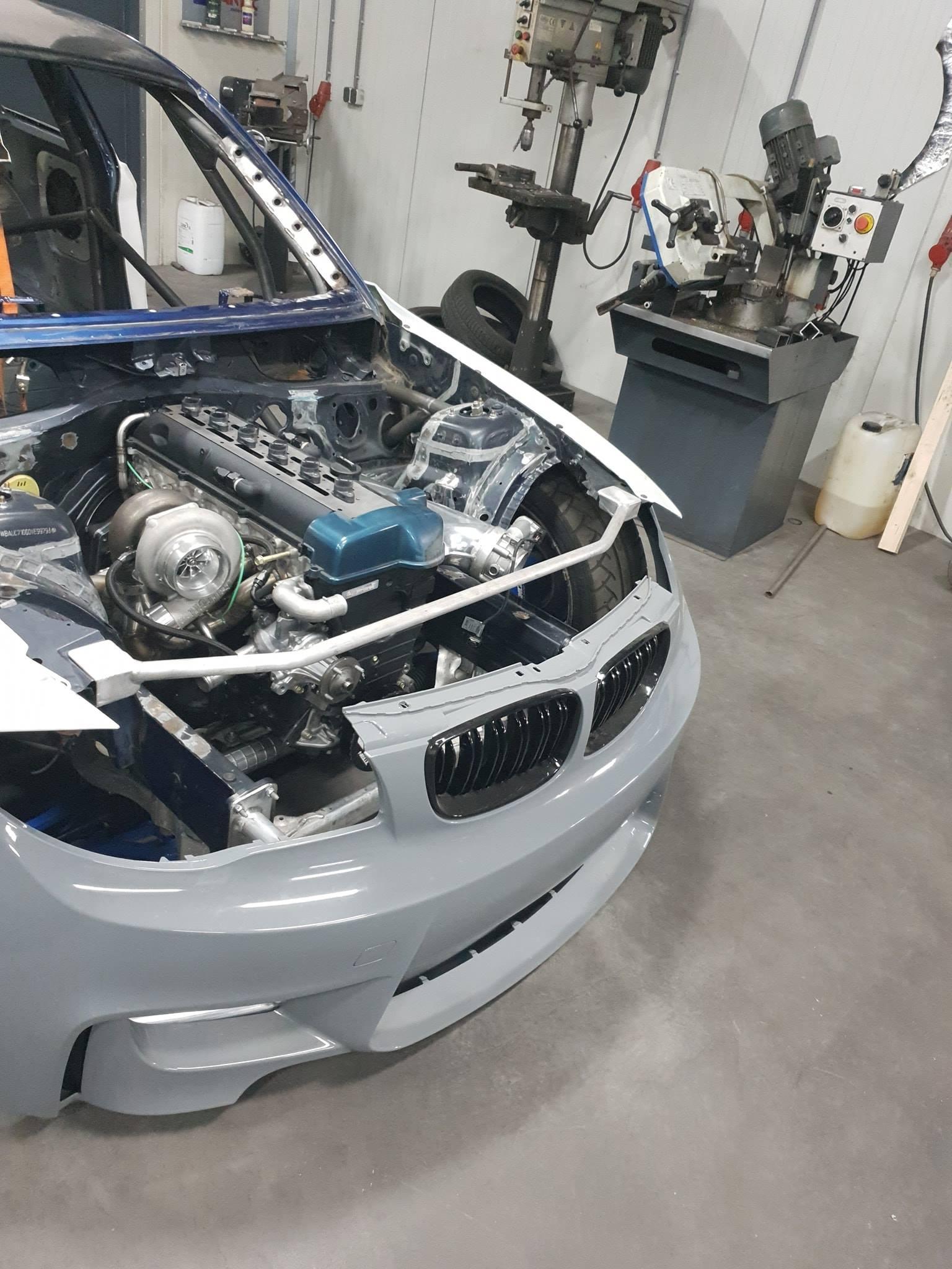 Building a BMW E82 with a 1000 hp 2JZ Inline-Six – Engine