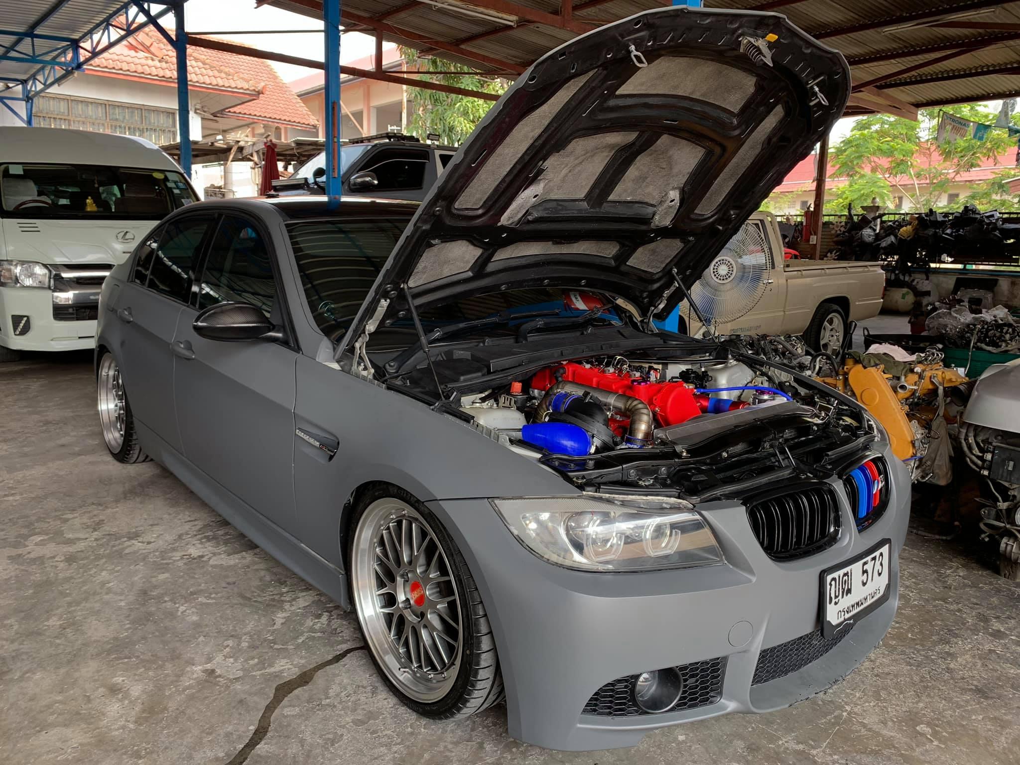 BMW E90 with a Toyota 1KD Turbo Diesel Inline-Four – Engine Swap Depot