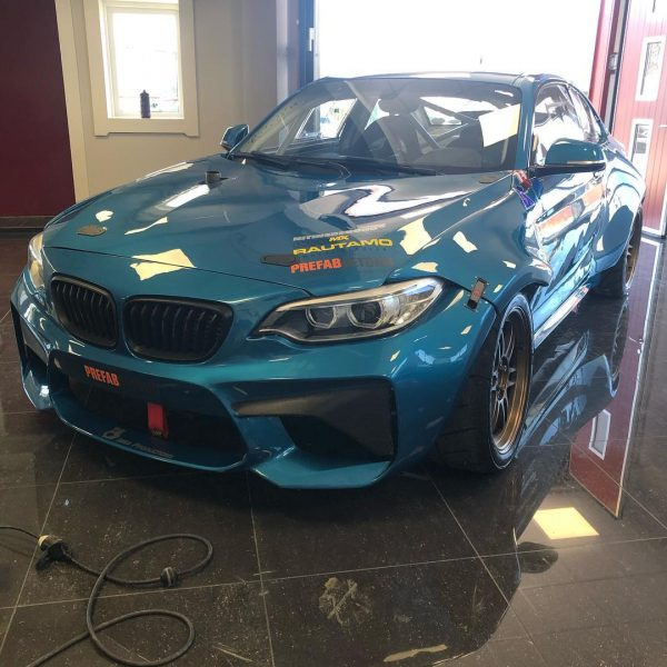 BMW M235i with a turbo M50 inline-six