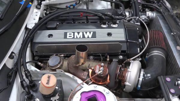 BMW M235i with a turbo M50 inline-six