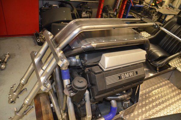 Custom Trike with a Twin-Turbo BMW V8