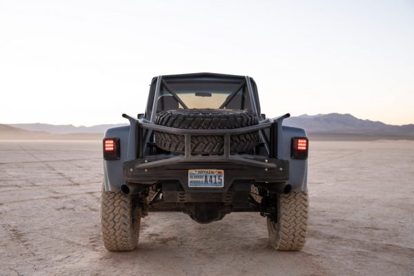 Jeep J10 truck with a Viper V10