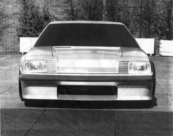Mega Bertha Vauxhall Cavalier with a 8.5 L BBC V8