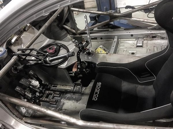 RWD Acura RSX with a turbo K-series inline-four