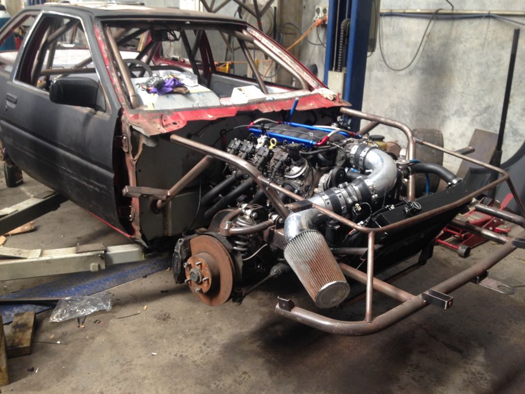 Toyota AE86 with a LS1 V8 – Engine Swap Depot