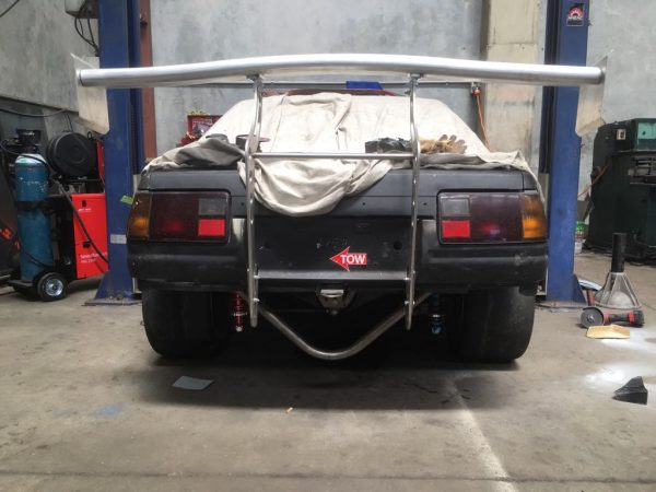Toyota AE86 race car with a LS1 V8