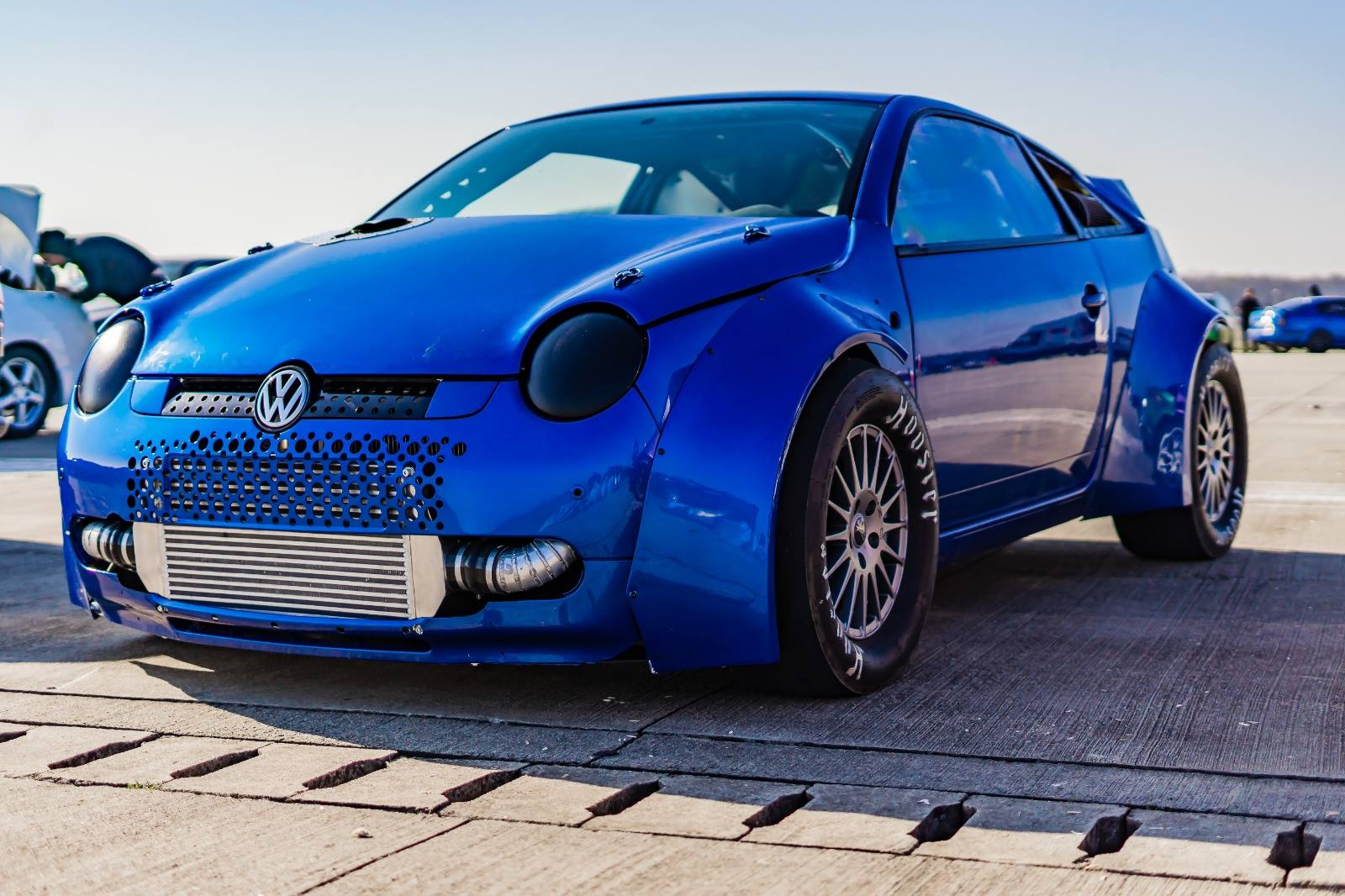 VW Lupo with two TFSI inline-four engines