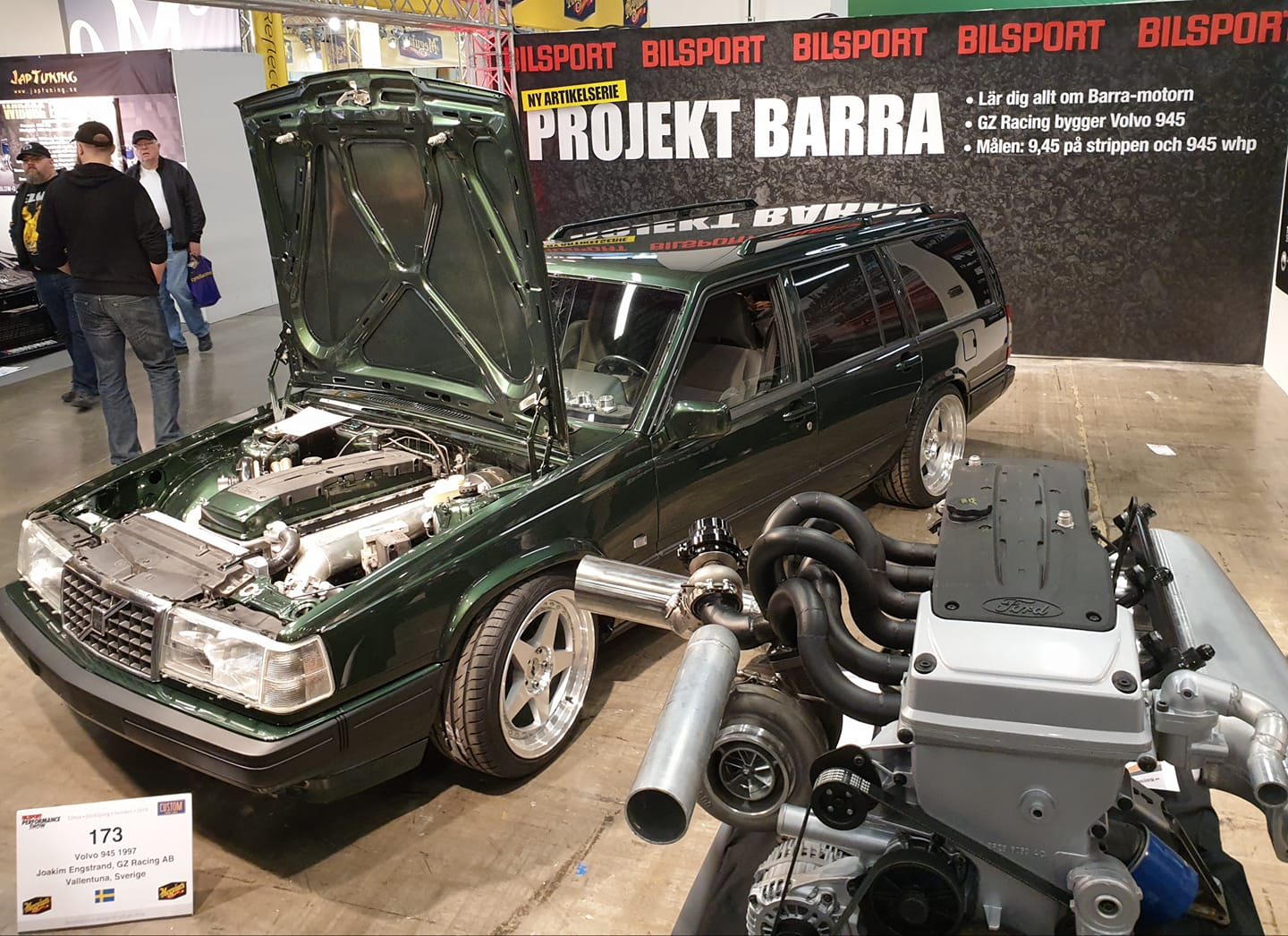 Volvo 945 with a Turbo Ford Barra Inline-Six – Engine Swap Depot