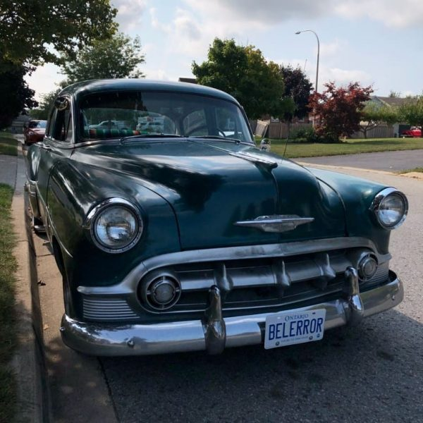 1953 Chevy Bel Air with a 2JZ-GTE inline-six