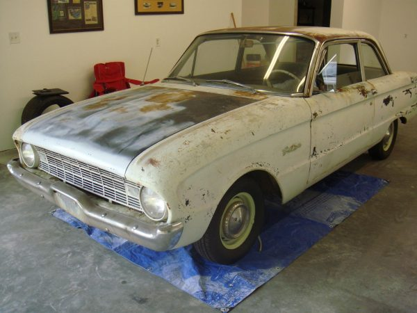 1960 Ford Falcon with a Coyote V8